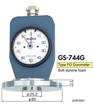 Máy Đo Độ Cứng Nệm Mút GS744G